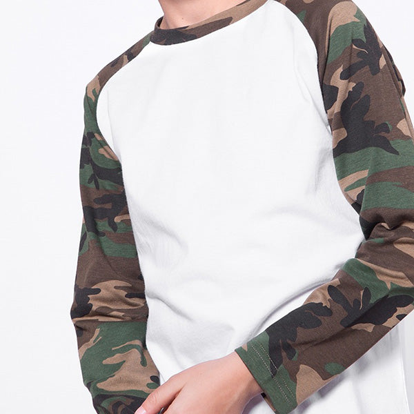 Camouflage Trendy for Children Long-sleeve Top For Kids