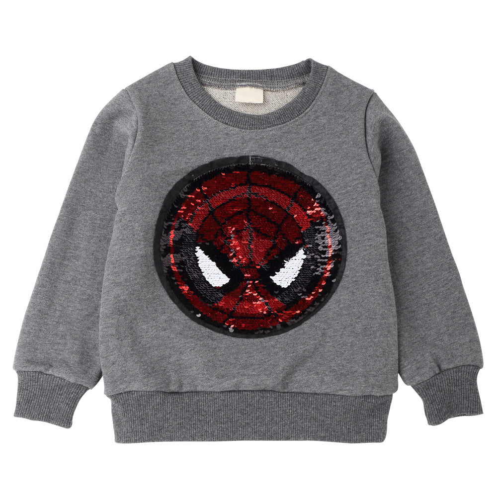 American Captain Spider-Man Transformation Top For Kids