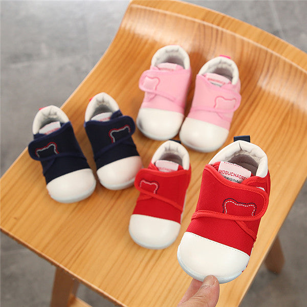 First Shoes for Baby with Two Colors
