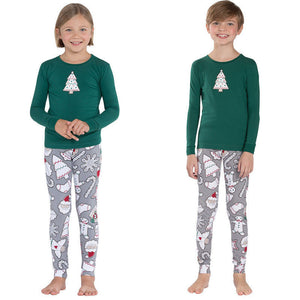 Christmas Family Matching Pajamas Set With Two Colors