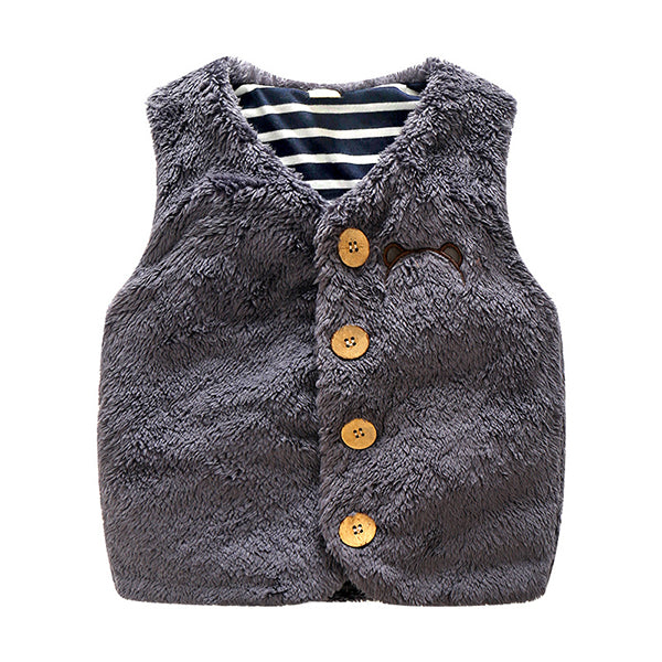Baby & Toddlers Soft Wool Waistcoat