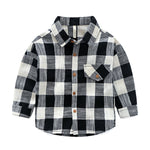 Plaid Shirt for Kids