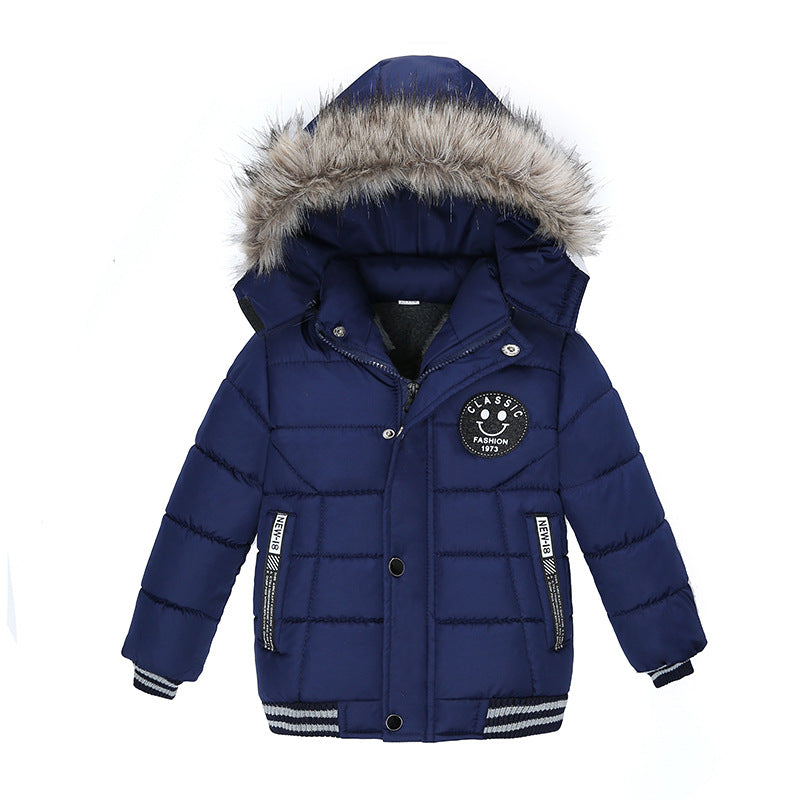 Classic  Warm and Comfy Cotton Jacket Coat For Boy