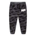 Kid's Bat Pattern Printed Long Pants