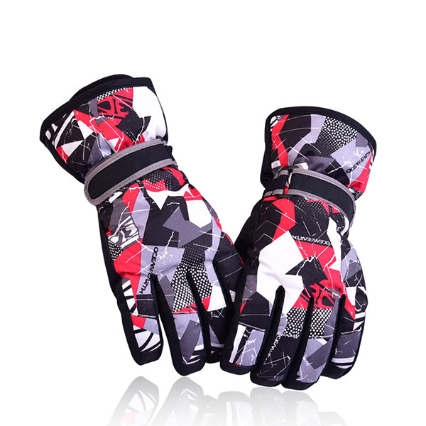 Thickened Parent-Child Waterproof Ski Gloves