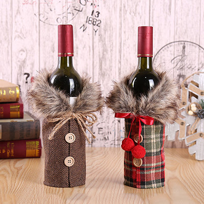 Christmas Decoration Wine Bottle Cover