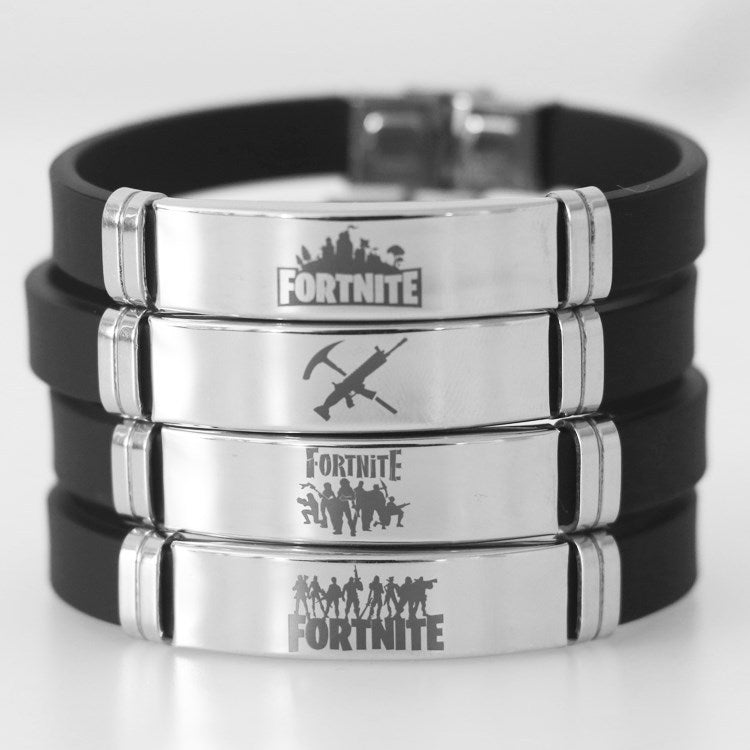 Adjustable Fortnite Stainless Steel Bracelet