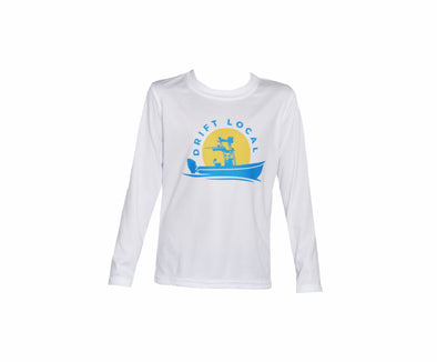 Toddler Drift Local Stamp L/S - White