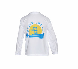 Youth Drift Local Stamp L/S - White