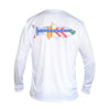 Men's Tarpon With Tampa Flag L/S - White