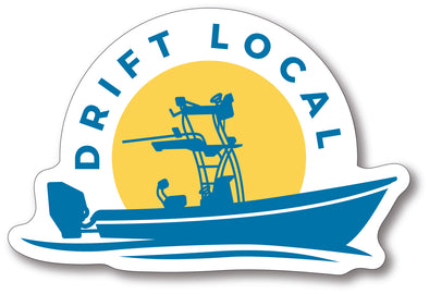 Drift Local Die Cut Stickers