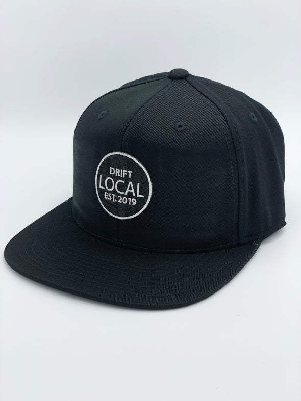 LOCAL - Black Snapback Hat