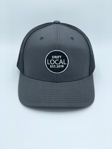 LOCAL - Charcoal/Black Trucker Snapback