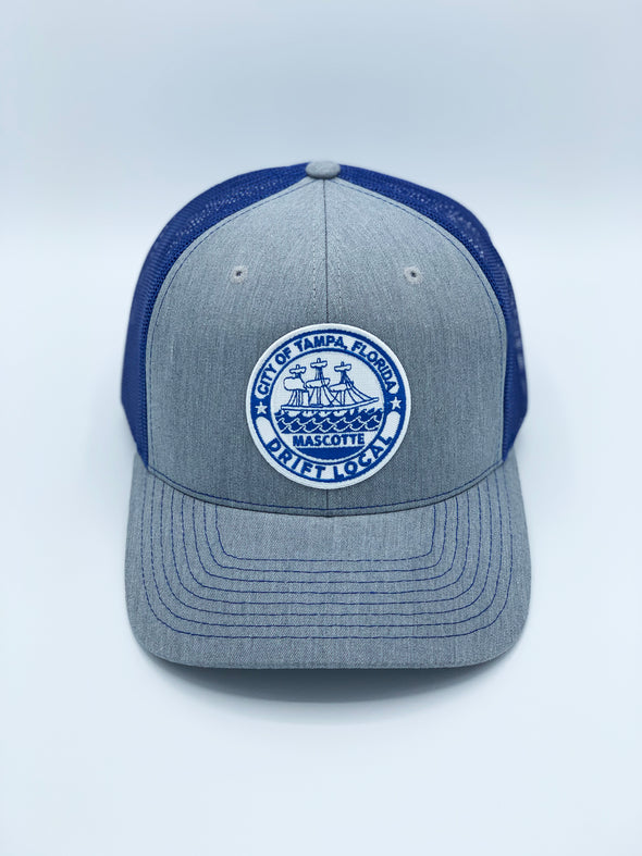 "Tampa ""Mascotte"" Hat - Grey/Blue"