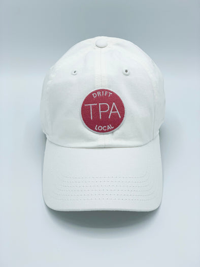 Women's Tampa Hat - Washed Chino White