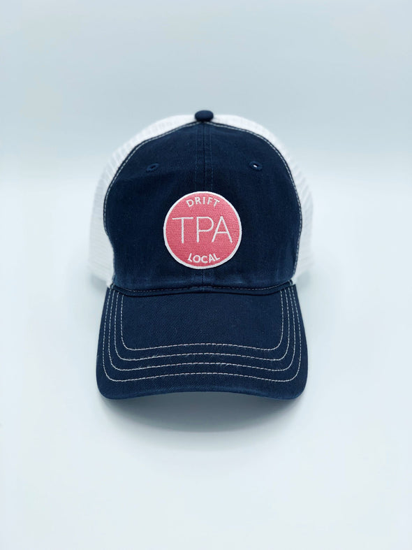 Women's Tampa Hat - Navy/White