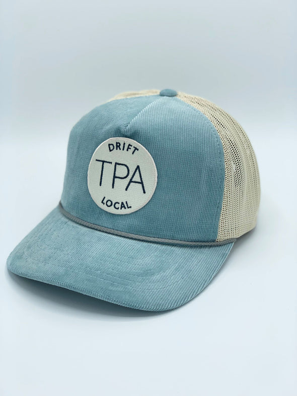 Tampa Hat - Light Blue/Sand
