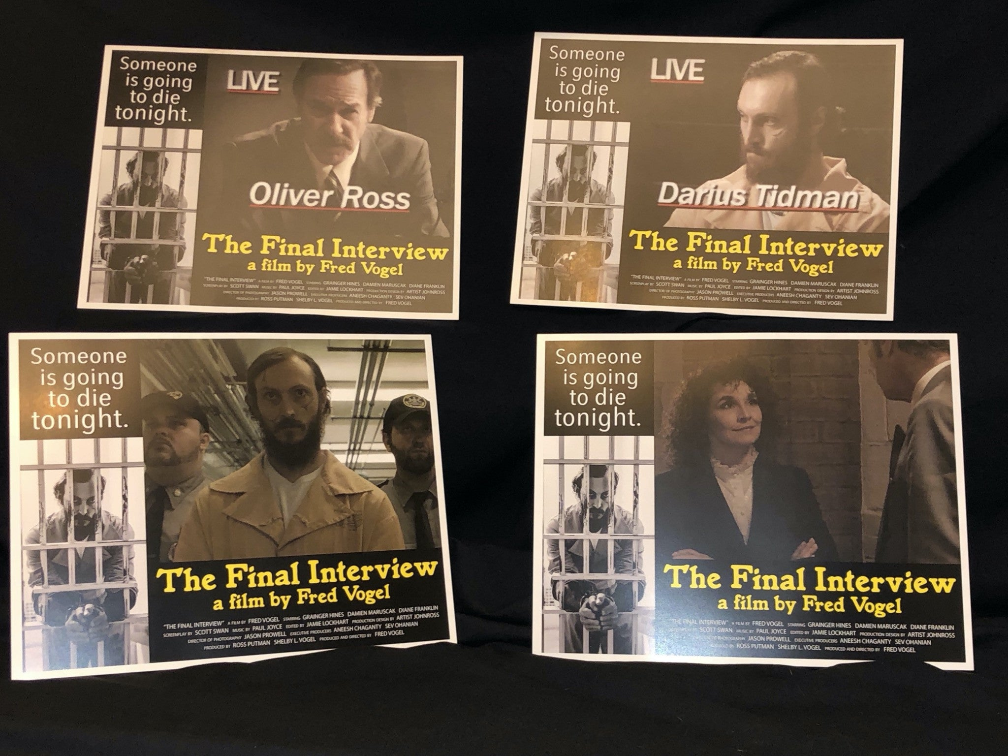 Lobby Card Set - The Final Interview Movie