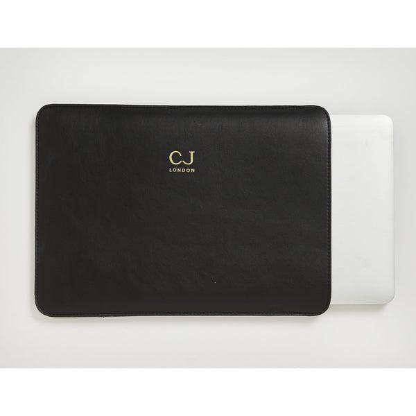 "vegan leather laptop case for  13"" MacBook"