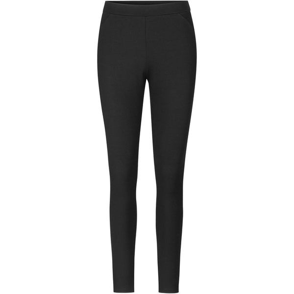 sustainable material black leggings