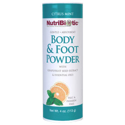 Body & Foot Powder, Citrus Mint (113g)