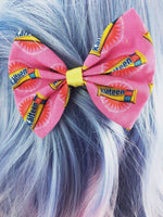CLEARANCE! Kalteen Bar Pink Handmade Hair Bow Burn Book Mean Girls Hair Accessory