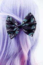 Batman The Dark Knight Medium Fabric Hair Bow Superhero Geeky Hair Clip