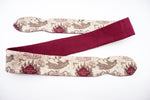 Marauders Map with Maroon Handmade Reversible Head Tie Harry Potter Inspired Hair Accessory