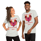 Bella and Canvas Short-Sleeve Unisex T-Shirt: : Gay Valentine 1