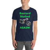 Gildan Short-Sleeve Unisex T-Shirt: BSA Gold Star green text