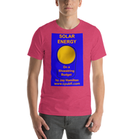 Bella and Canvas Short-Sleeve Unisex T-Shirt: Solar Energy on a Shoestring Budget
