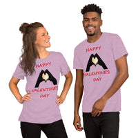 Bella and Canvas Short-Sleeve Unisex T-Shirt: Valentine 2