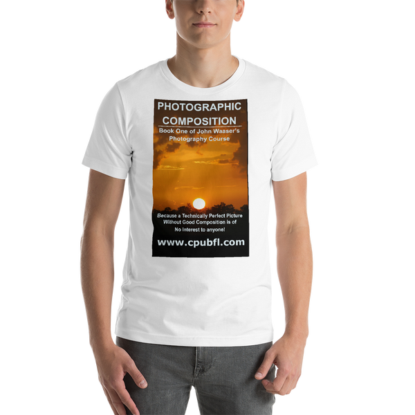 Bella and Canvas Short-Sleeve Unisex T-Shirt light colors Photographic Composition Tee