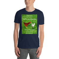 Gildan Short-Sleeve Unisex T-Shirt--Cocky and Henna. This is our response to #COCKYGATE