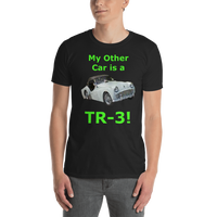 Gildan Short-Sleeve Unisex T-Shirt: TR-3 green text