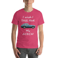 Bella and Canvas Short-Sleeve Unisex T-Shirt: Still had Aceca white text