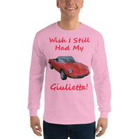 Gildan Long Sleeve T-Shirt: Still had Giulietta red text