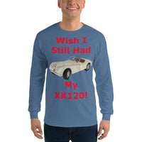 Gildan Long Sleeve T-Shirt: still had XK 120 red text