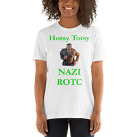 Gildan Short-Sleeve Unisex T-Shirt: ROTC green text
