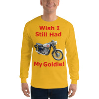 Gildan Long Sleeve T-Shirt: Still had Goldie red text