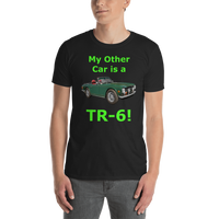 Gildan Short-Sleeve Unisex T-Shirt: TR-6 green text