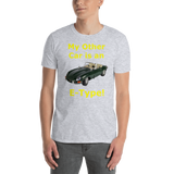Gildan Short-Sleeve Unisex T-Shirt: E-Type yellow text