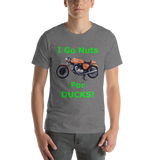 Bella and Canvas Short-Sleeve Unisex T-Shirt: Nuts for Ducks green text