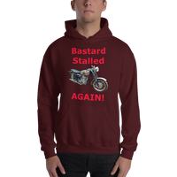 Gildan Hooded Sweatshirt: BSA Gold Star red text