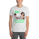 Gildan Short-Sleeve Unisex T-Shirt: Lucas Pacemaker green text