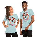 Bella and Canvas Short-Sleeve Unisex T-Shirt: Valentine's Day 1