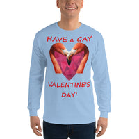 Gildan Long Sleeve T-Shirt: Gay Valentine 1