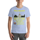 Bella and Canvas Short-Sleeve Unisex T-Shirt: Help Wanted Yellow Text