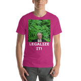 Bella and Canvas Short-Sleeve Unisex T-Shirt: Jeff Sessions LEGALIZE IT white text