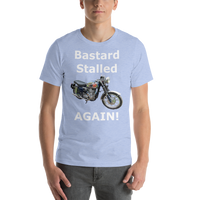 Bella and Canvas Short-Sleeve Unisex T-Shirt: BSA Gold Star white text